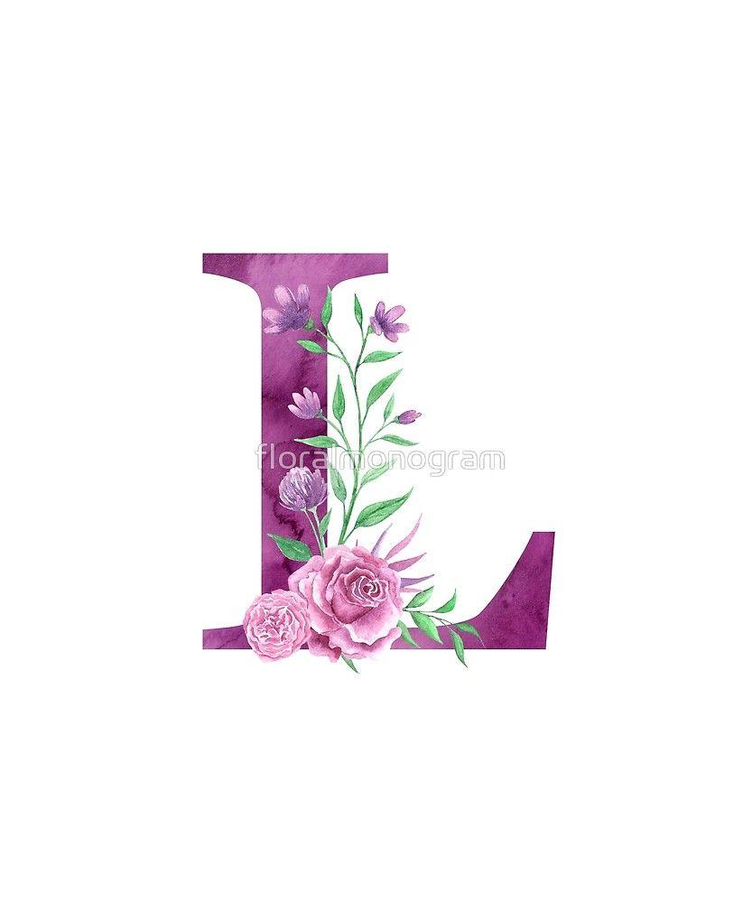 Monogram L Lovely Rose Bouquet By Floralmonogram Floral