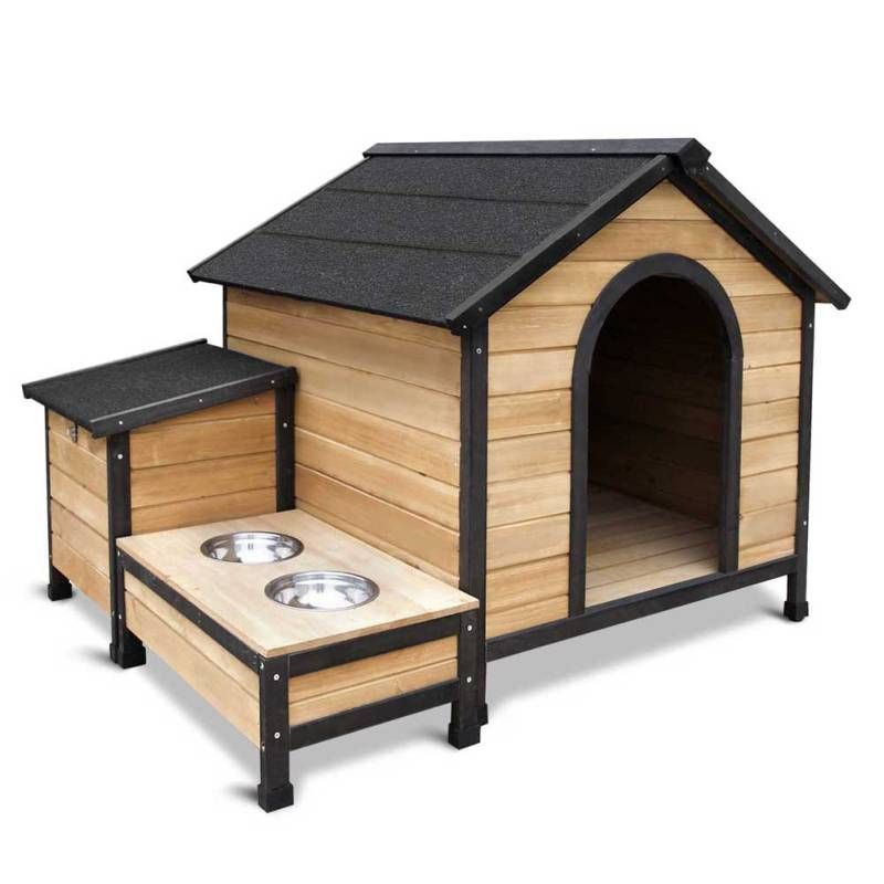 Dog Kennel Kennels Outdoor Wooden Pet House Puppy Extra Large Xxl