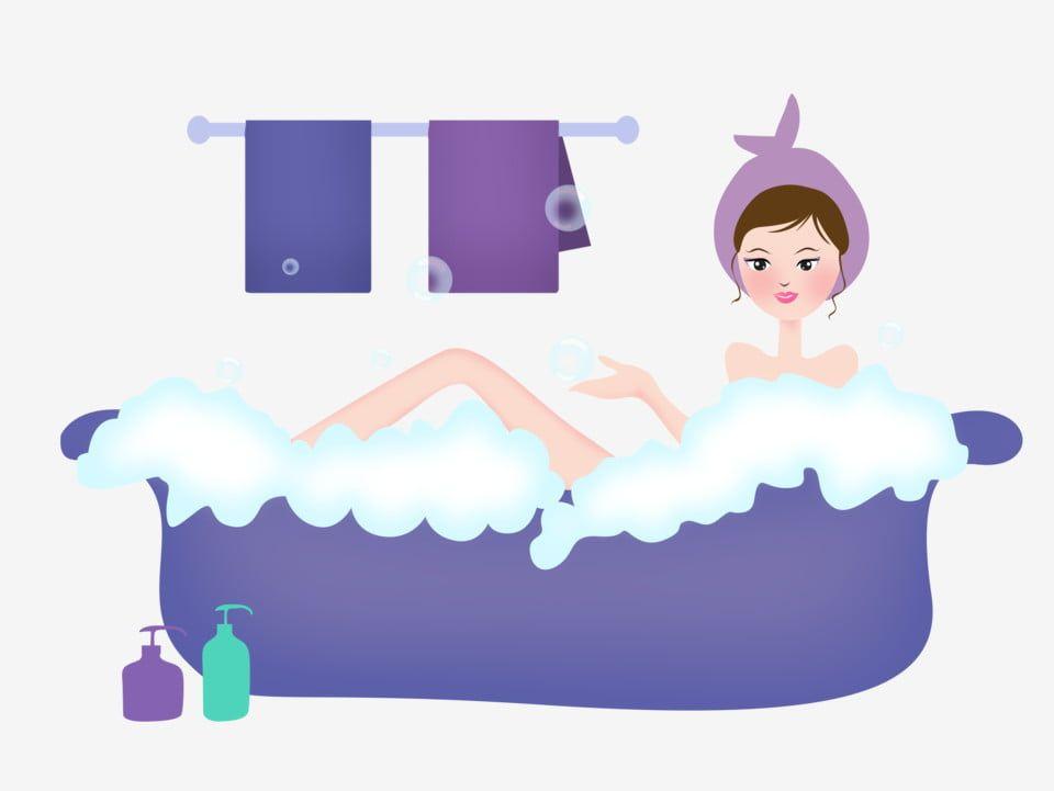 หญ งสาวสวยอาบน ำ ความงาม อาบน ำ การอาบน ำ ภาพประกอบ การทำให งาม การอาบน ำงามภาพ Png และ Psd สำหร บดาวน โหลดฟร อาบน ำ ความงาม ภาพประกอบ