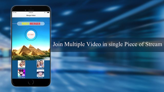 Video Merger Combine Two Or More Videos Into A Single Video On The App Store Video Merger Add Music