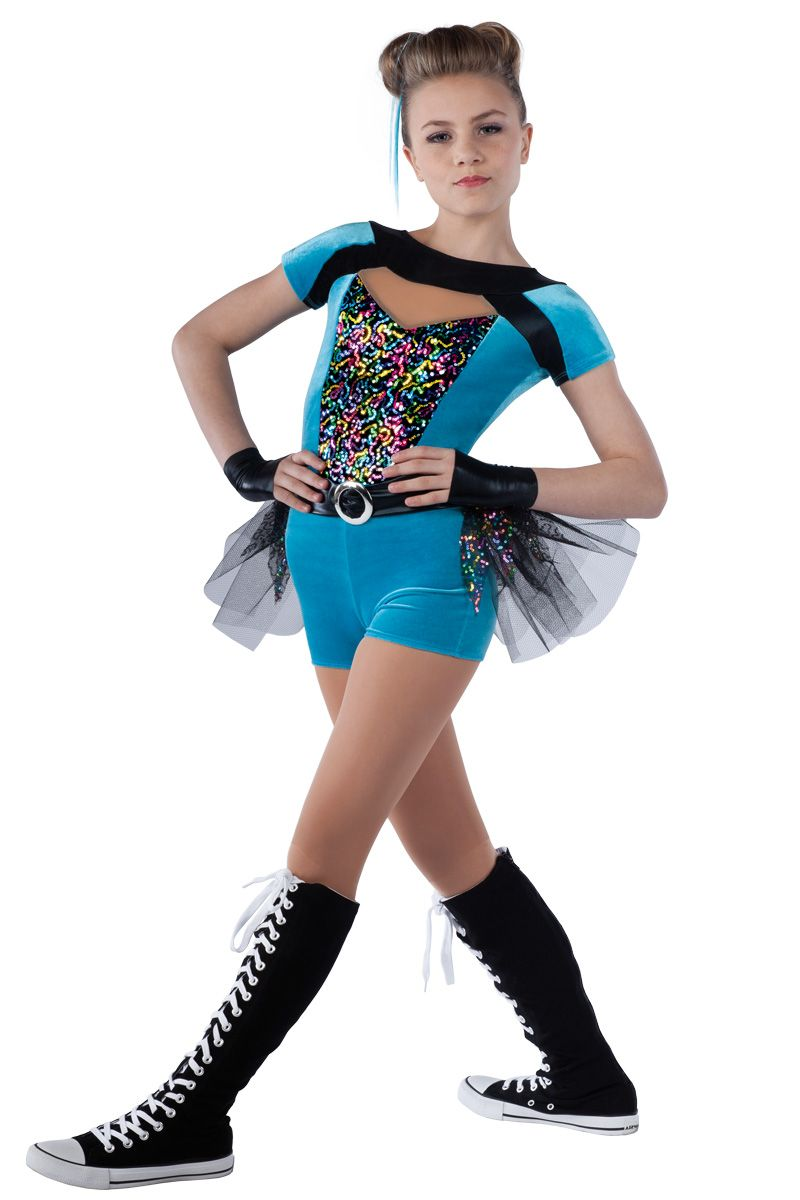 aaf9b77e441e 15366-15367 Let's Get It Started- Peacock | Hip Hop Funk Dance Costumes