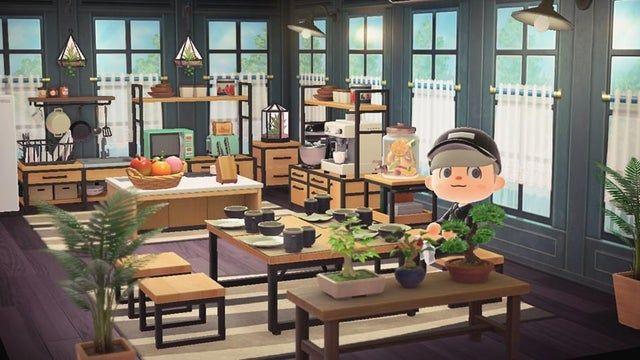 Finally Finished My Ironwood Kitchen Animalcrossing Animal Crossing Animal Crossing Villagers New Animal Crossing