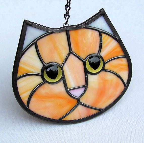 Gabi stained glass suncatcher. $38