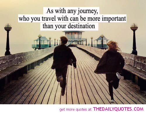 Quotes About Friends Who Travel Together : How you know re comfortable traveling with your