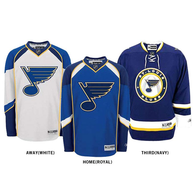 st louis blues jersey history - Google