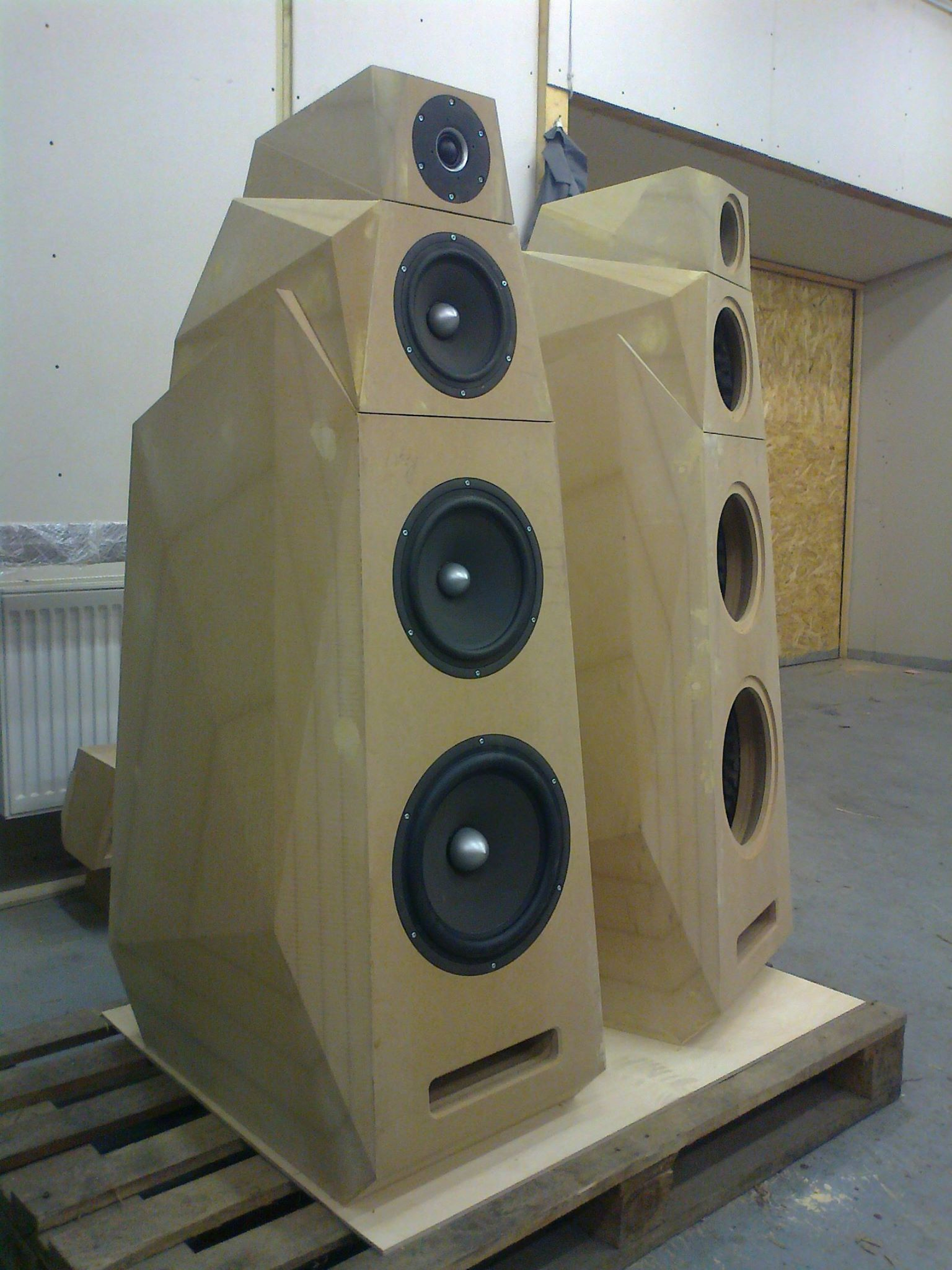 My project, SEAS drivers  | Speakers in 2019 | Audiophile