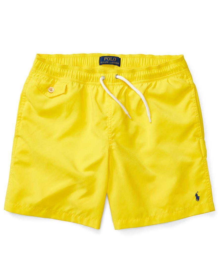 6e18d94f550664 Ralph Lauren Swim Trunks, Big Boys (8-20) | Products | Baby boy swim ...