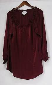 Image result for burgundy peasant blouse