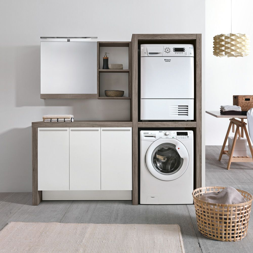 Meuble Machine A Laver Seche Linge laundry furniture - vellmann ltd | laundry room design