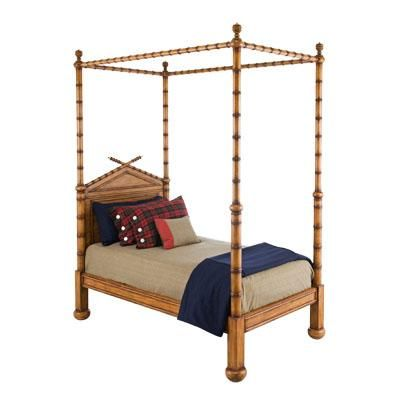 Faux Bamboo Four Poster Bed Furniture Bed Bamboo Bedding