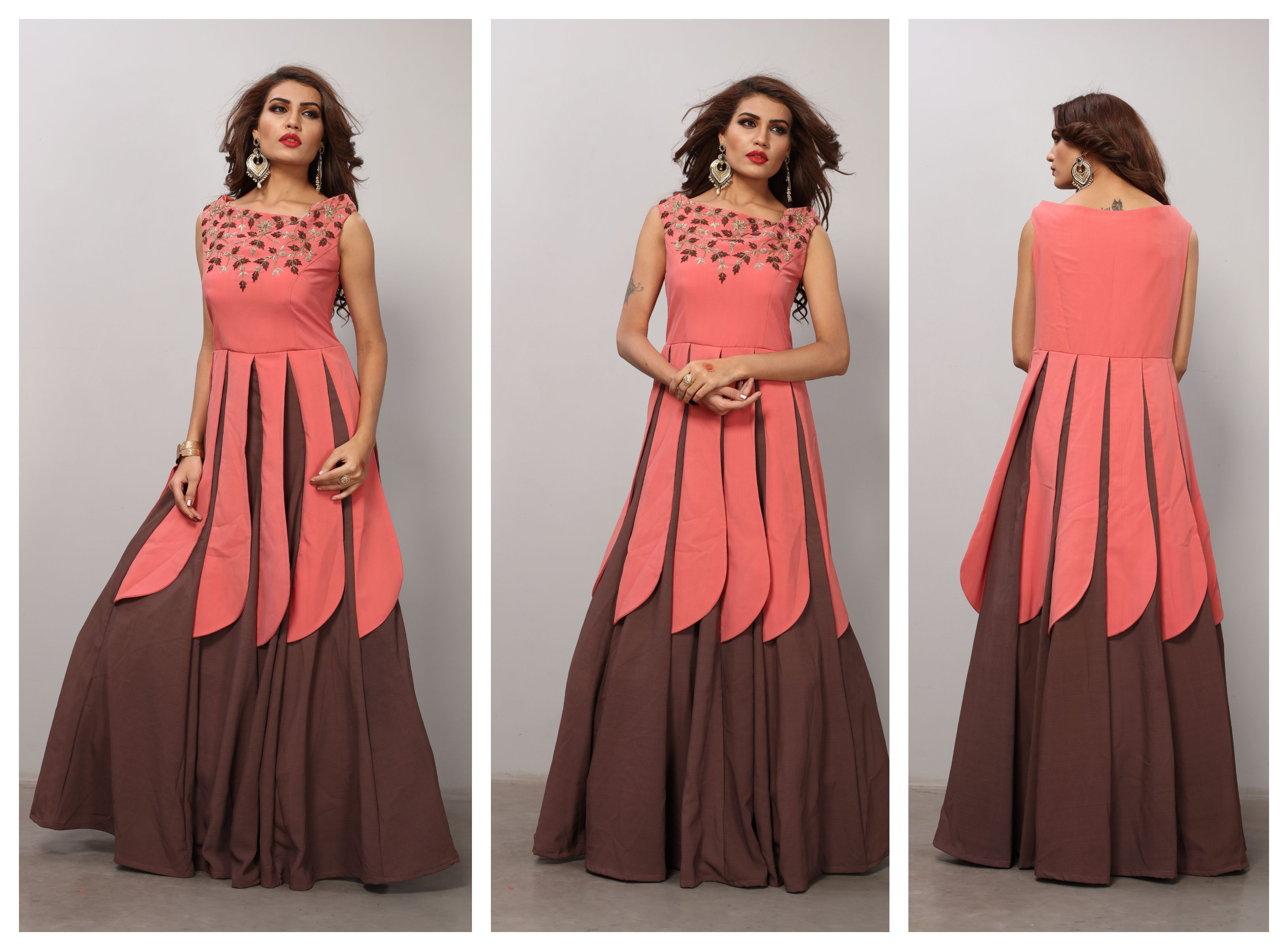 party long dress design