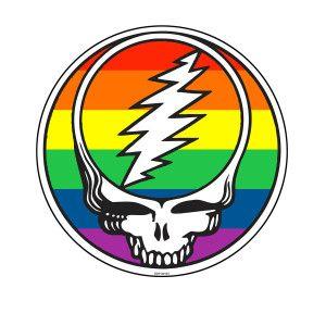 b1e7698967c Charity Item - Rainbow Stealie Sticker Dead And Company