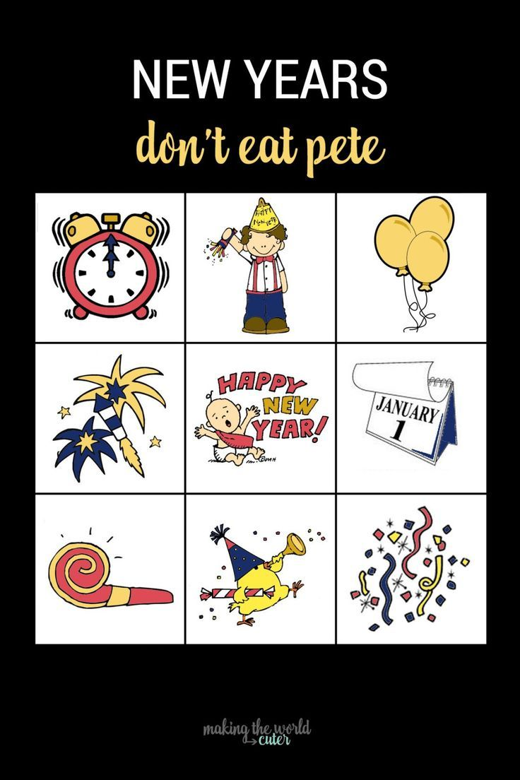 Don't Eat Pete New Years Eve Game New years eve games