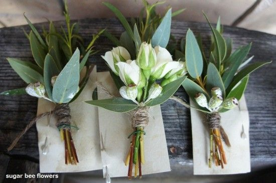 How To Make Wedding Buttonholes: Pin By Dolores Madden On The Boys