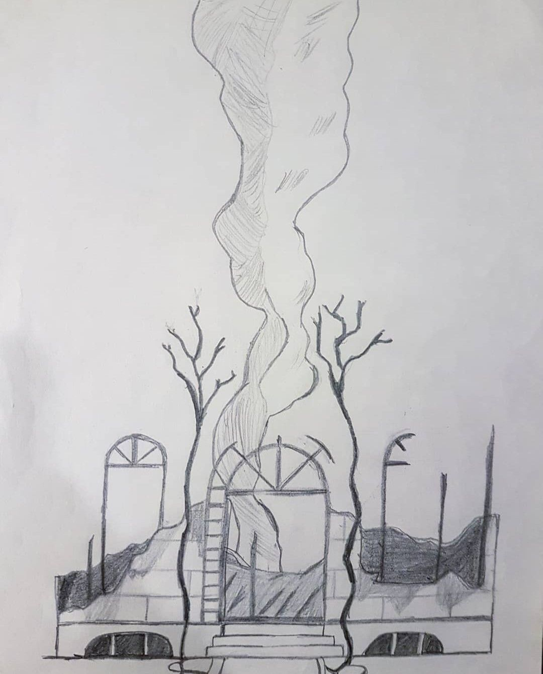Baudelaire Mansion Burned Aseriesofunfortunateevents Lemonysnicket