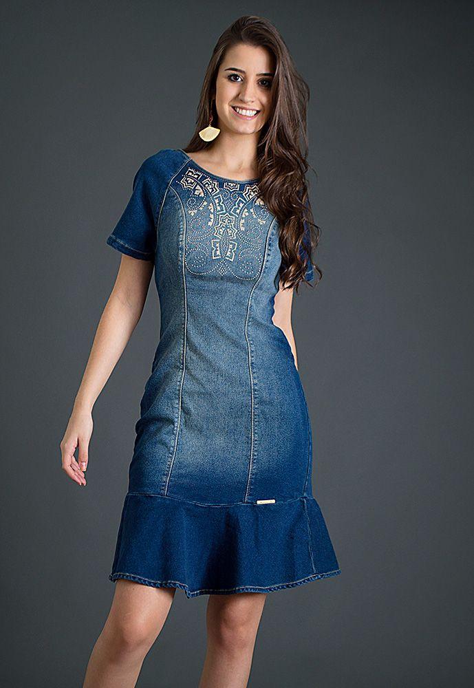 Pin de Dimples Cutaran en Dresses | Pinterest | Jeans, Vestiditos y ...