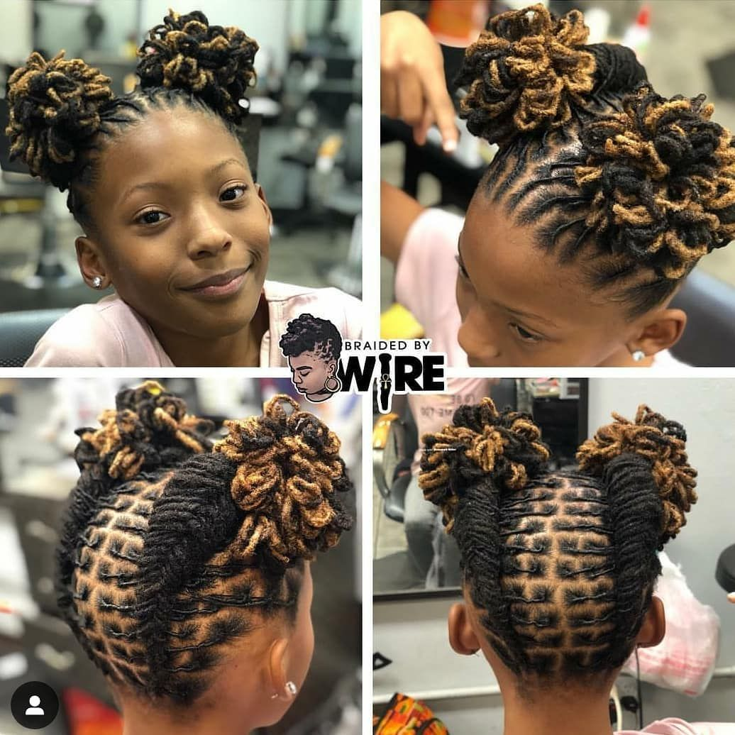Little Loc Queens And Kings On Instagram Braidedbywire You Did That Show Some To Locqueensrock Locs Hairstyles Short Locs Hairstyles Hair Styles