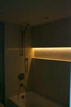 Shower Niche Wired For Lighting Rooms Bathroom Remodel