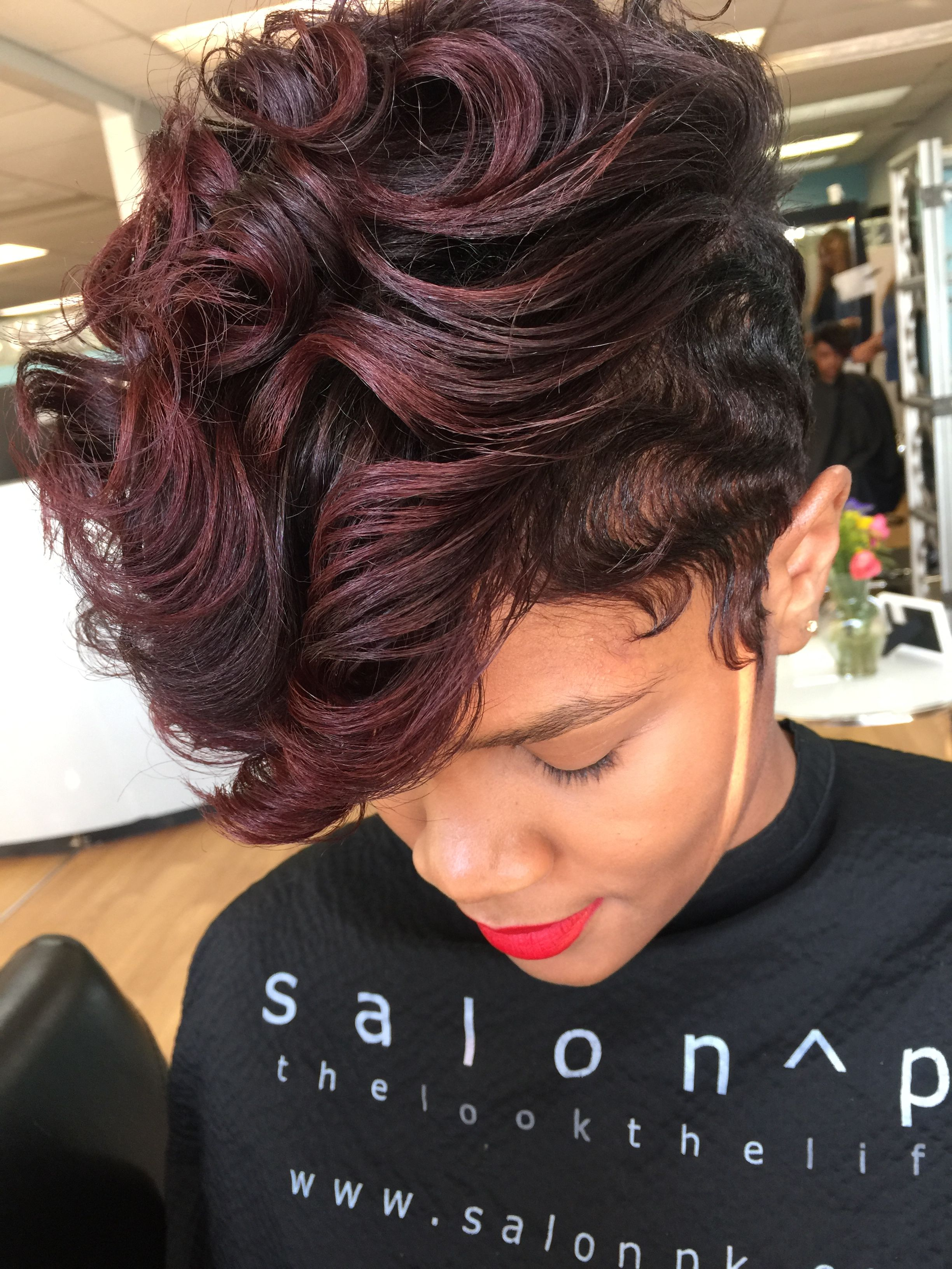 Salon Hairstyles For Short Hair Red Hair Pintrest Multicultural Hair Salon Jacksonville Florida