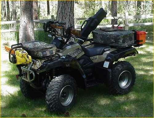 Hunting atv | ATV | Atv trailers, Atv accessories, Hunting ...