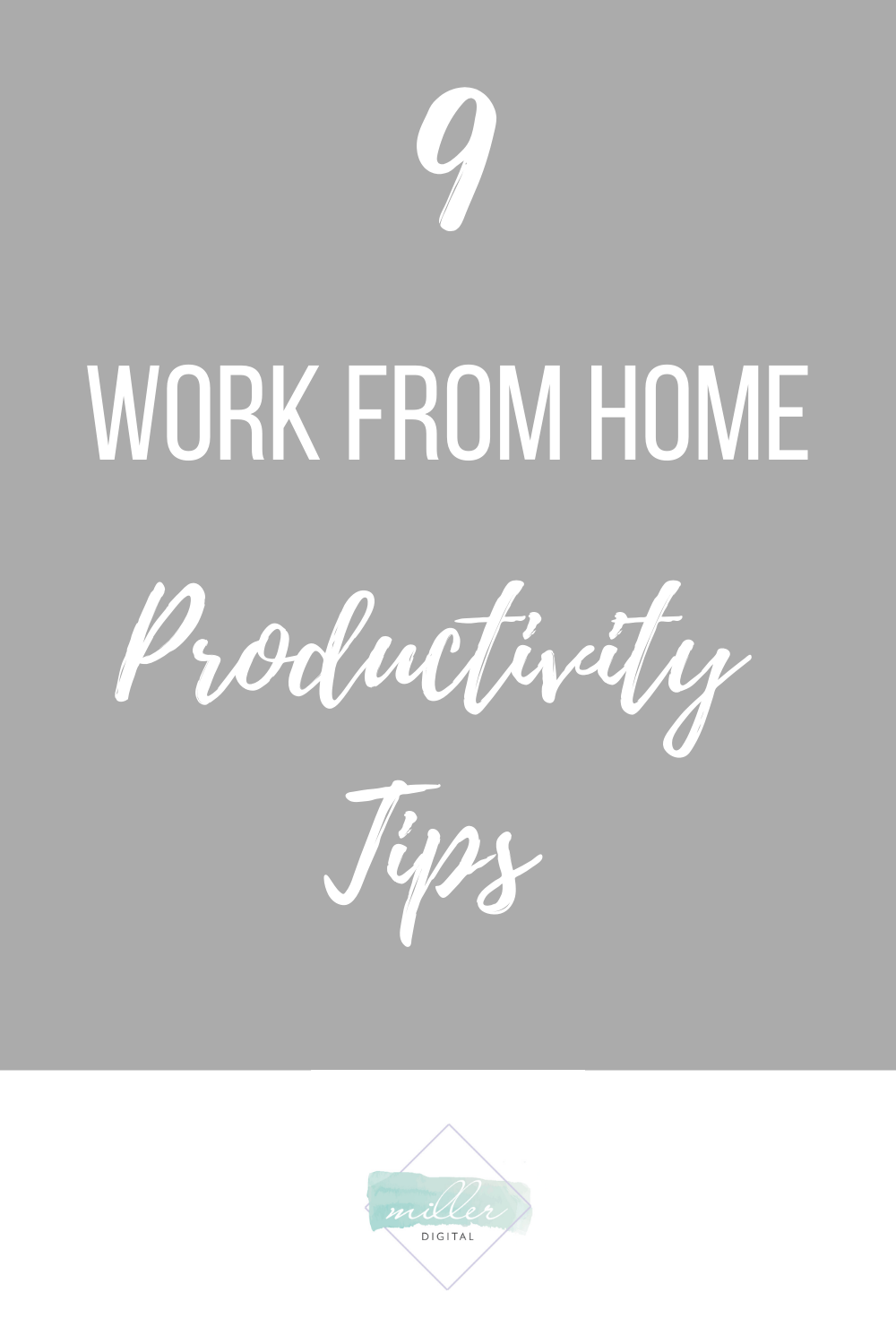 Many employees across the world are now discovering the many joys and challenges of living like a solopreneur and working from home.  Here are 9 work from home productivity tips to help you be the best worker you can be!#workfromhome #entrepreneur #onlinebusinessowner #businessproductivity #workingfromhome #solopreneur