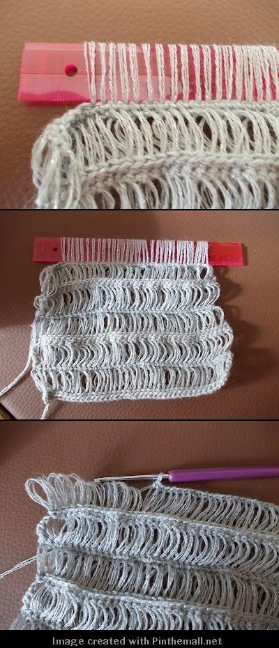Broomstick Well Ruler Lace Crochet Crochet Pinterest