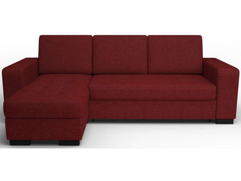 Canapé d'angle convertible et réversible NEW SCOTT coloris