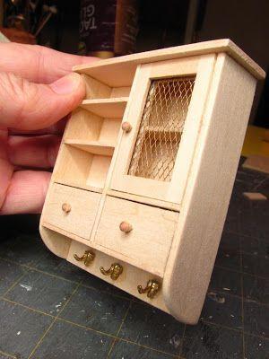 Dollhouse Miniature Furniture - Tutorials   1 inch minis #dollfurniture