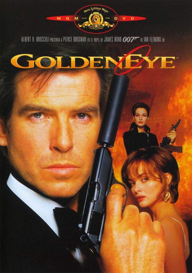 James Bond Goldeneye James Bond Movies Pierce Brosnan