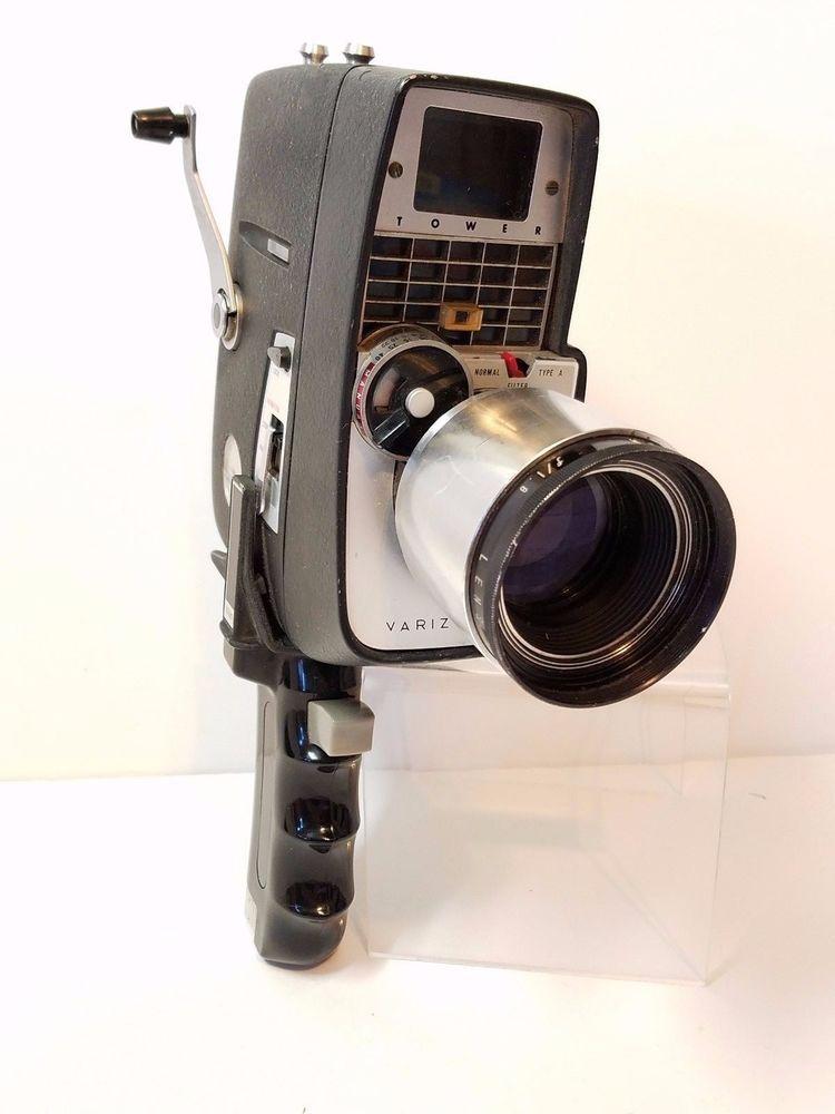 Vintage Revere 8mm Movie Projector Instruction Manual PDF