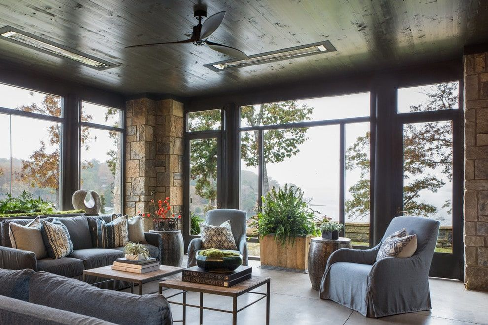 Photo of 15 Staggering Rustic Sunroom Designs You Would Never Get Tired Of
