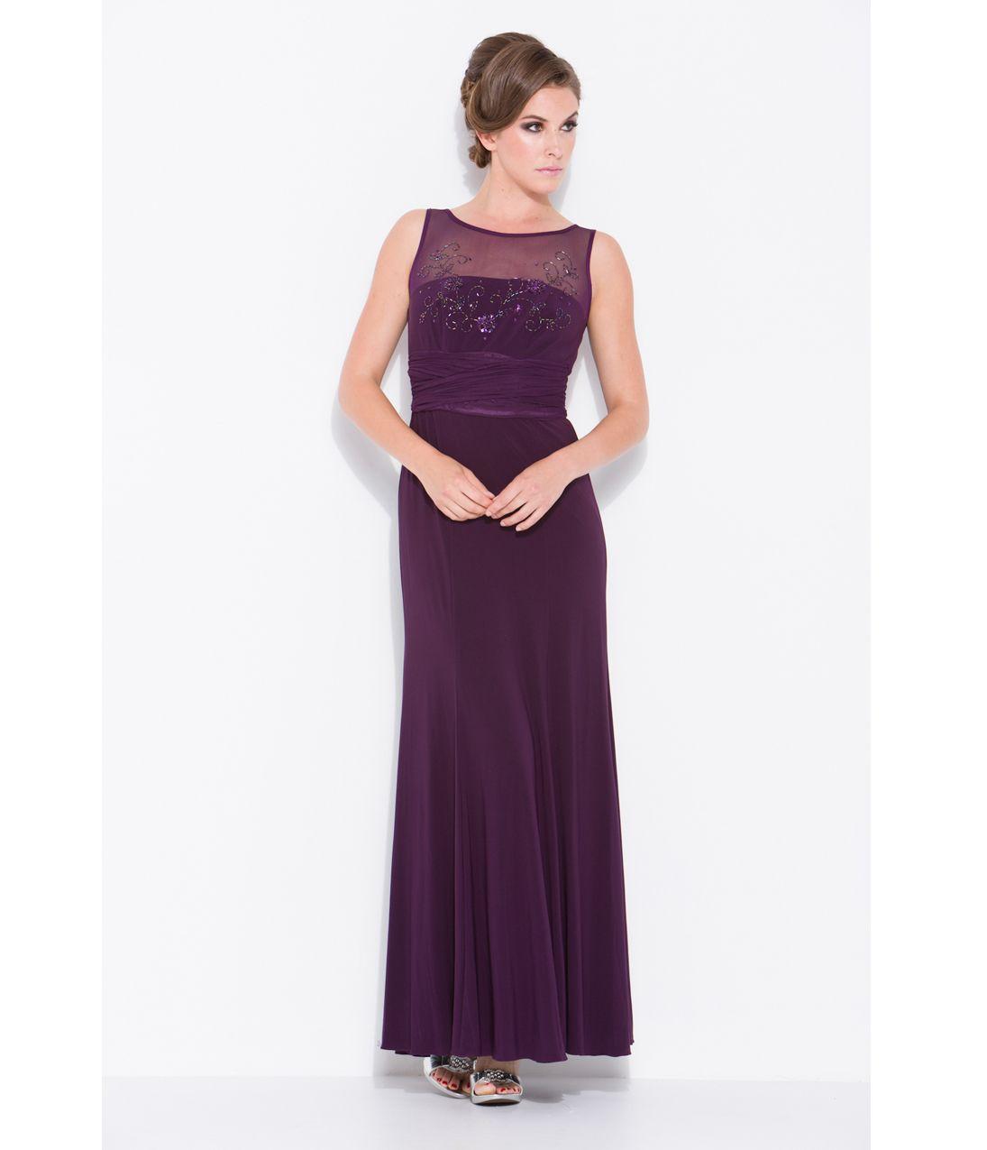 Plum Cocktail Dresses