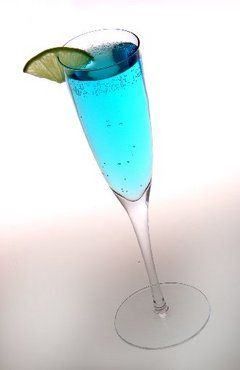 Blue Bahama Cocktail