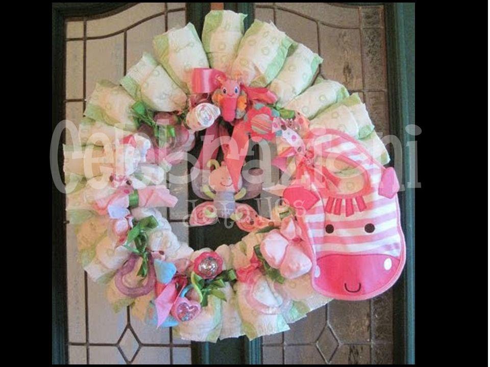 Pastel De Pañales Fiesta Baby Shower