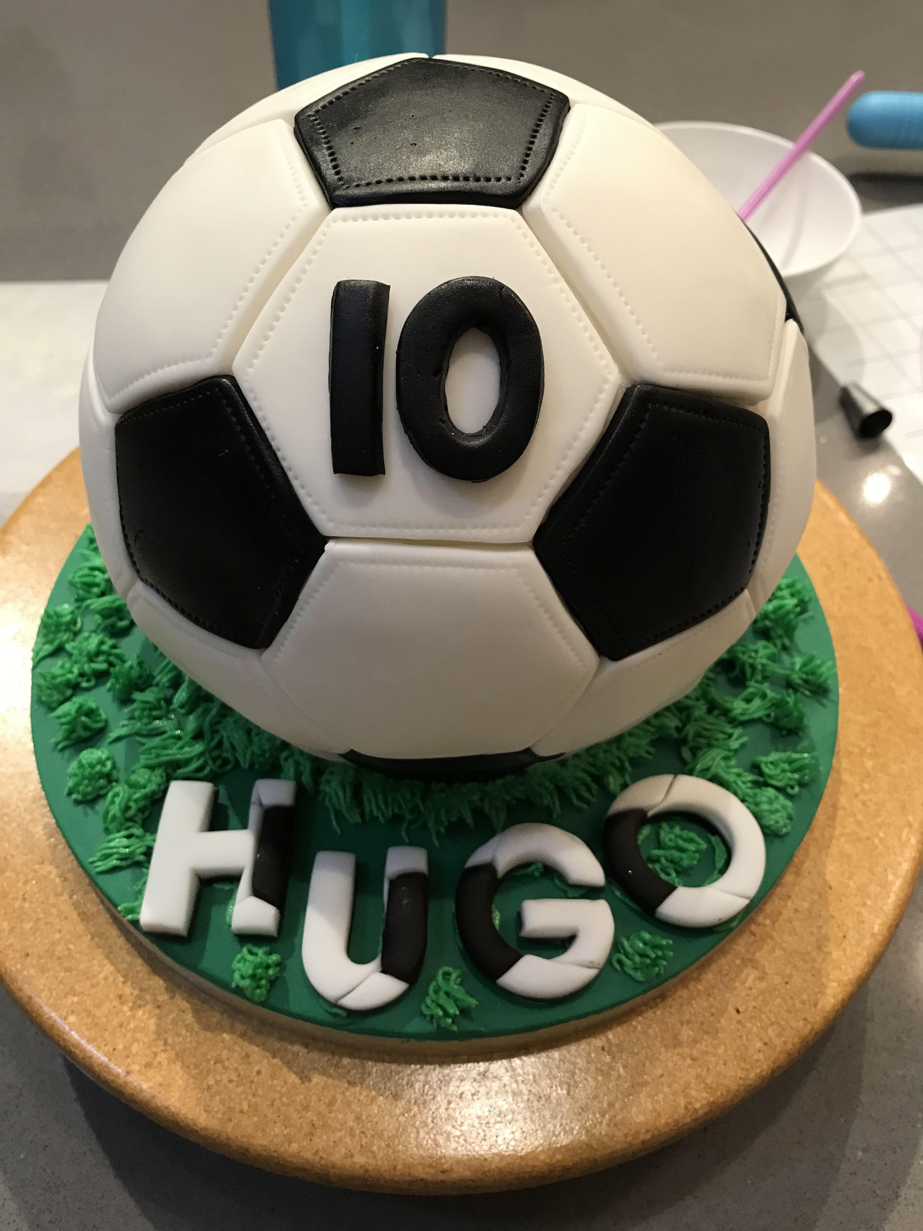 Soccer Ball Cake Soccer Ball Cake Sports Themed Cakes Soccer Cake