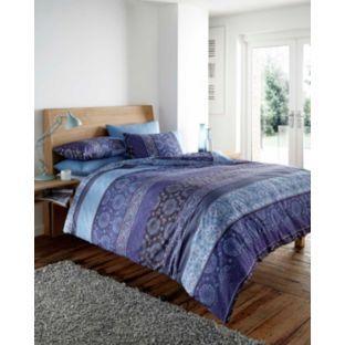 Buy Vantona Susani Blue Duvet Cover Set - Kingsize at Argos.co.uk - Your Online Shop for Duvet cover sets.