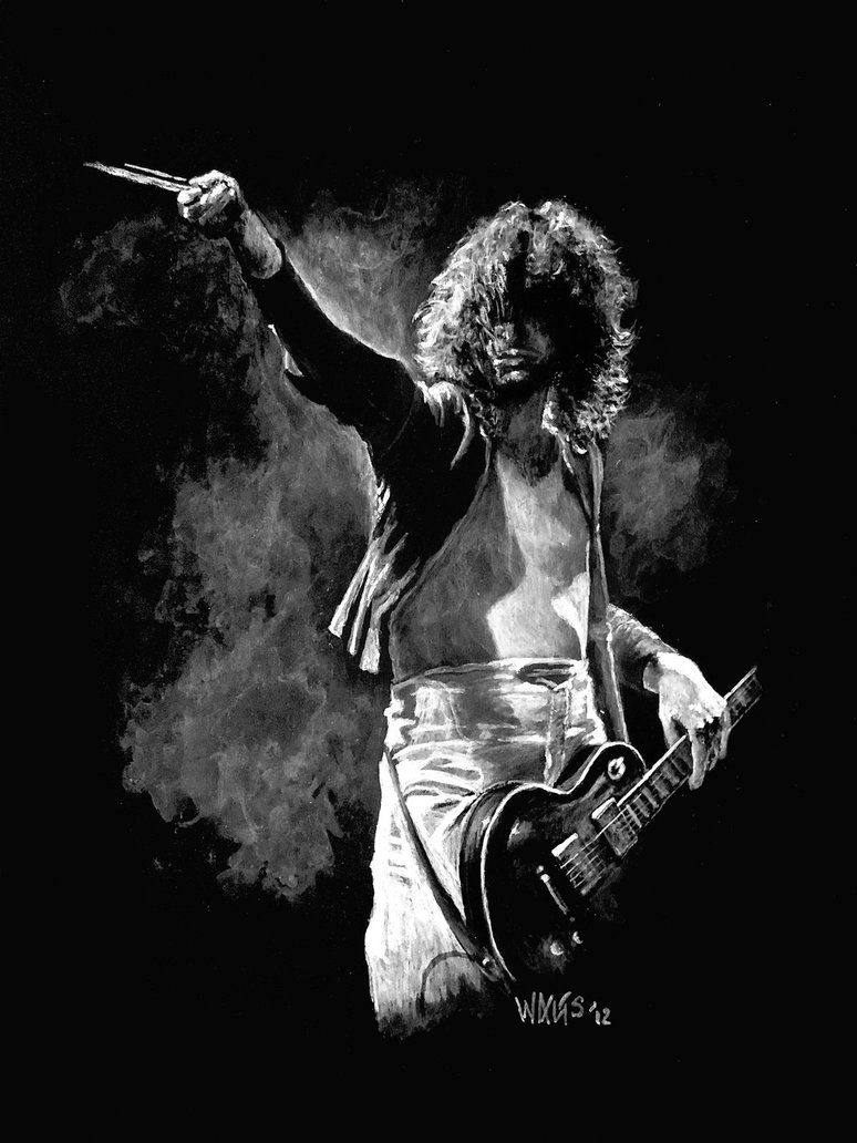Led zeppelin black and white photos google search