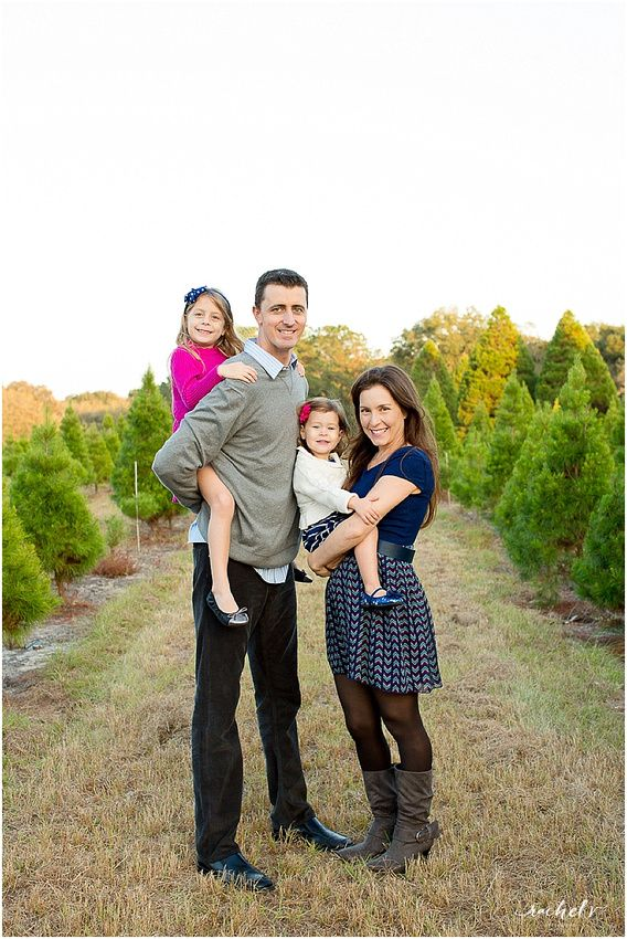 Springer Family Holiday Portraits 2014 Holiday Photo Session Holiday Portraits Christmas Tree Farm