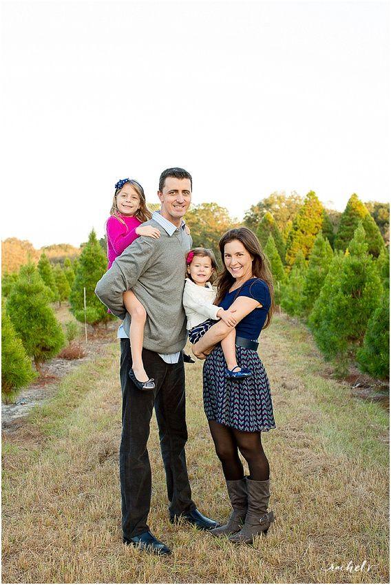 Springer Family Holiday Portraits 2014 Holiday Photo Session Holiday Portraits Christmas Tree Farm