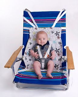 Something similar for the beach? I wonder if Baby Boy would sit happily in it. Hmmmm.
