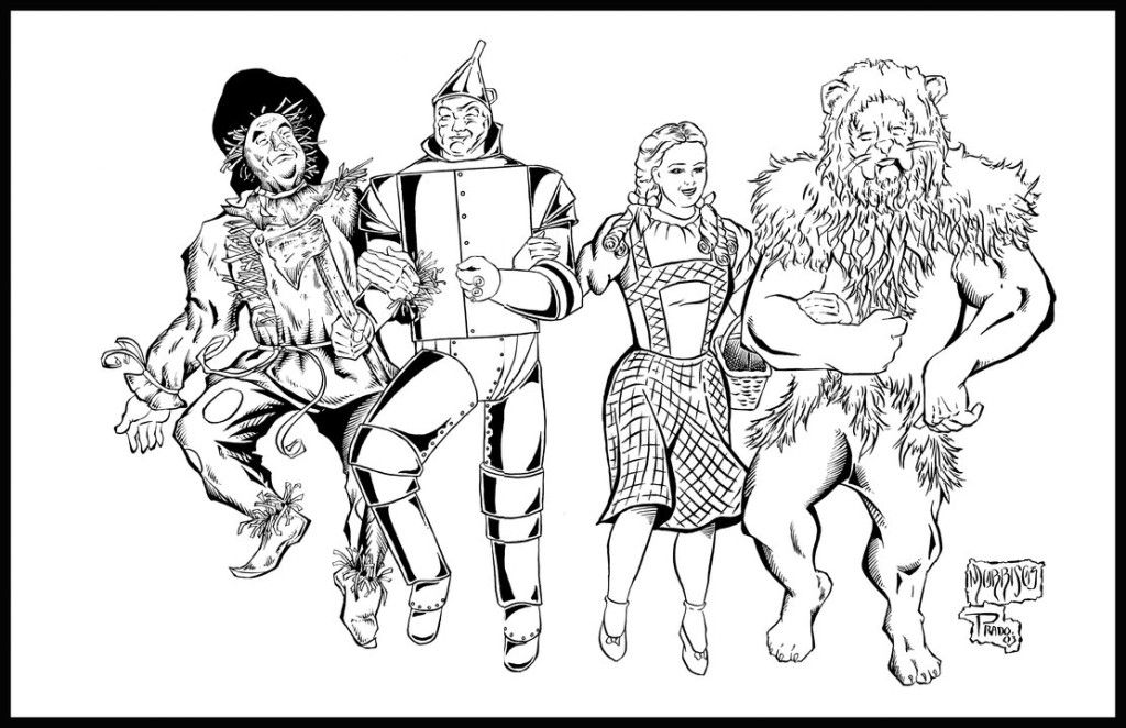Wizard of Oz Coloring Pages Printable - Enjoy Coloring | Printables ...