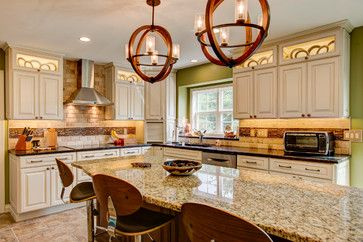 Excellent Remodel Featuring Diamond Cabinets Sullivan
