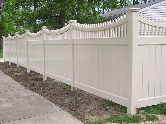 white privacy fence ideas. 16 inspirational fence ideas that are simple yet beautiful white privacy n