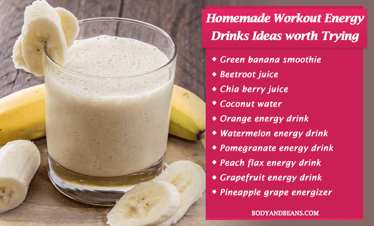 Looking For Best Homemade Workout Energy Drink Ideas And Recipes Here Re The 14 Best Energy Drinks You Can Make Energy Drink Recipe Homemade Energy Drink Food