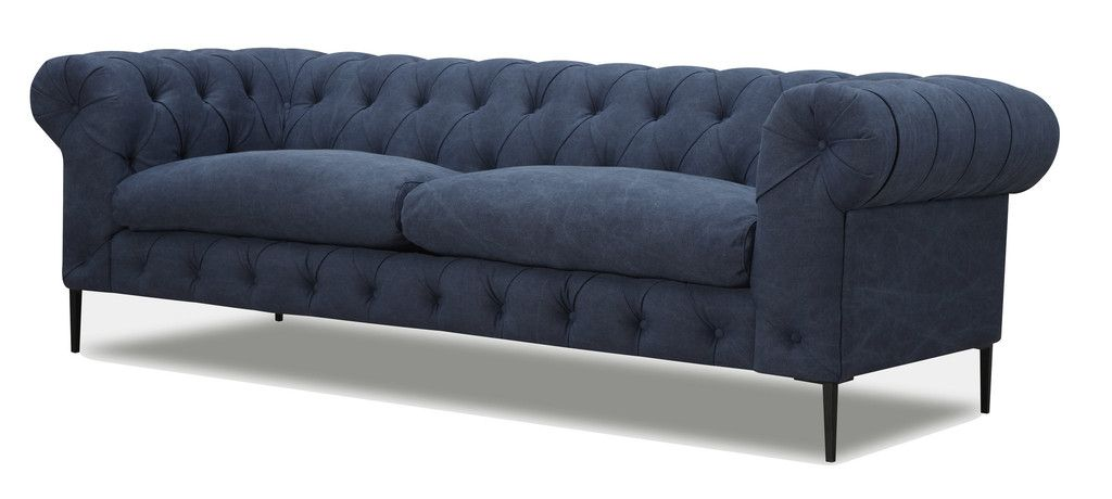 Navy Tufted Sofa Tufted Sofa Sofa Navy