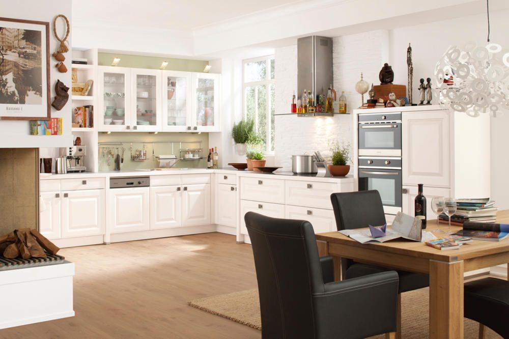 Nett weiße küchenmöbel Deutsche Deko Pinterest - wandbilder wohnzimmer landhausstil