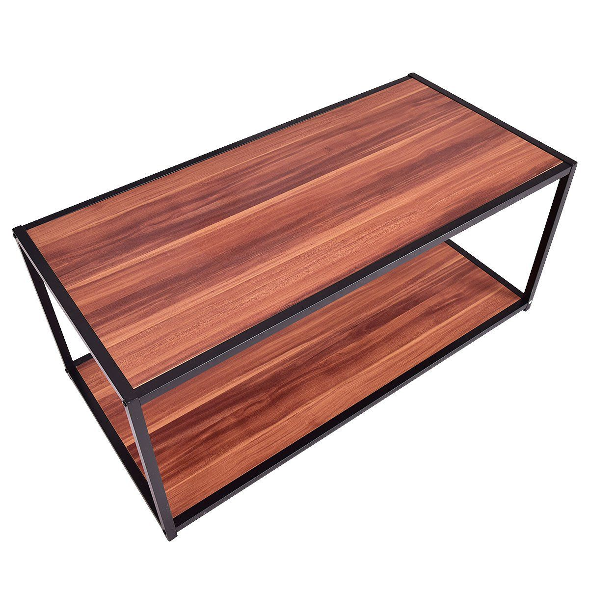 Giantex Rectangle Coffee Table Sofa End Table Side Modern Furniture You Could Get E Coffee Table Rectangle Rectangular Coffee Table Glass Wood Coffee Table