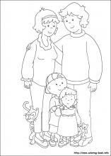 Caillou coloring pages on Coloring-Book.info | Ada potatoes 3rd ...