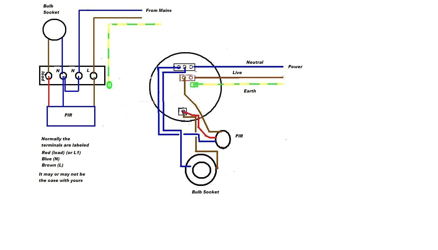 [DIAGRAM_38DE]  Motion Sensor Light Wiring Diagram | Low voltage outdoor lighting, Low  voltage lighting, Light sensor switch | Led With Sensor Wiring Diagram |  | Pinterest