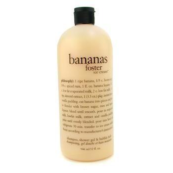 Banana Foster Ice Cream Shampoo, Shower Gel & Bubble Bath - PHILOSOPHY - Skin Ca... -
